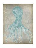 Spa Octopus II Premium Giclee Print by Jennifer Goldberger