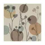 Polka-Dot Wildflowers I Metal Print by Jade Reynolds