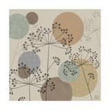 Polka-Dot Wildflowers II Metal Print by Jade Reynolds