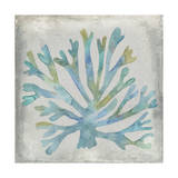 Watercolor Coral I Metal Print by Megan Meagher