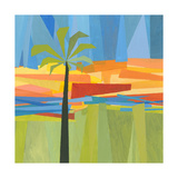 Traveling Tropical 1 Plakat af Jan Weiss