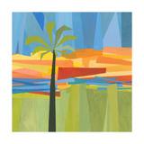 Traveling Tropical 1 Poster von Jan Weiss