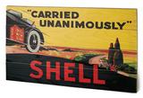 Shell - Carried Unanimously, 1923 Træskilt