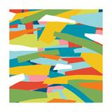Broken Landscape One Kunst von Jan Weiss