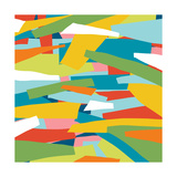 Broken Landscape One Affischer av Jan Weiss