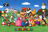 Super Mario - Characters Plakater