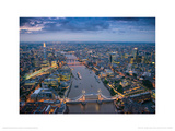 Jason Hawkes - London Poster von Jason Hawkes