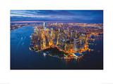 Jason Hawkes - New York Poster von Jason Hawkes