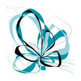 Aqua Bloom 2 Kunst von Jan Weiss