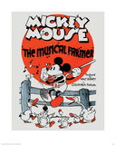 Mickey Mouse - The Musical Farmer Affiches