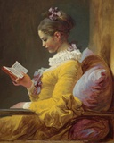 A Young Girl Reading (1776) Print by Jean-Honoré Fragonard