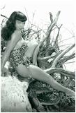 Bettie Page Beach Bettie Pin-Up Billeder