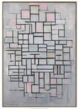 Composition No.6., 1914 Plakater af Piet Mondrian