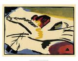 Lyrisches Presse (1911) Plakater av Wassily Kandinsky