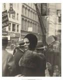 Girl in Fulton Street, New York, 1929 Julisteet tekijänä Walker Evans