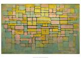 Tableau no. 2: Composition no. V, 1914 Posters par Piet Mondrian