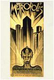 Metropolis Movie Fritz Lang Poster Print Plakater