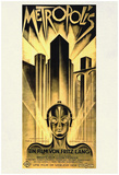 Metropolis Movie Fritz Lang Poster Print Pósters