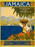 Jamaica, c. 1910 Affischer