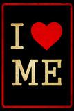 I Love Me Dirty 2 Placa de plástico