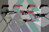 Basic Weapons 1 Targa di plastica