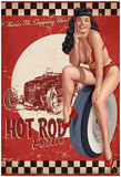 Bettie Page Hot Rod Poster