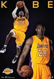 Kobe Bryant Los Angeles Lakers Nba Sports Poster Pôsters