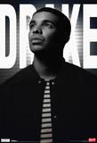 Drake Black And White Music Poster Plakat