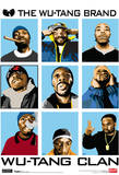 Wu Tang Clan Animated Music Poster Print