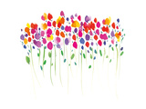 Vibrant Floral Reproduction procédé giclée par Summer Thornton