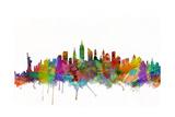 New York City Skyline Prints by Michael Tompsett