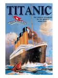 Titanic White Star Line Kunstdrucke