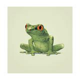 Frog Giclee-trykk av John Butler Art