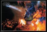 Star Wars Rocks Concert Music Poster Kunstdruck