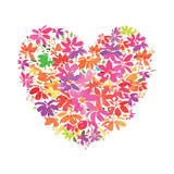 Floral Heart Giclee Print by Summer Thornton