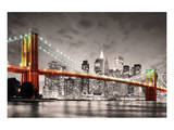 New York City Brooklyn Bridge Posters