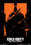 Call Of Duty Black Ops 2 Orange Video Game Poster Photo