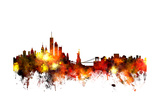 New York Skyline Posters by Michael Tompsett