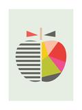 【北欧】りんご ジクレープリント :  Little Design Haus
