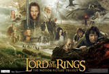 Lord Of The Rings Trilogy Movie Poster Pósters