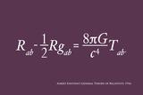 Einstein Theory of Relativity Prints by Michael Tompsett