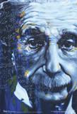 Albert Einstein Artistic Formulas Poster Fotografía