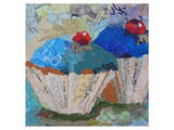 Two Blue 6X6
