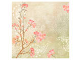 Kyoto Cherry Blossoms Kunstdruck