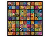 Klimt Squares Poster by Gustav Klimt