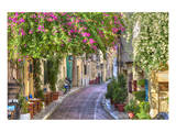 Plaka Area by Acropolis Athens Plakater