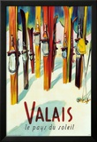 Valais Posters af Herbert Libiszewski