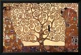 Der Baum des Lebens Kunstdruck von Gustav Klimt