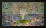 The Sun Prints by Edvard Munch