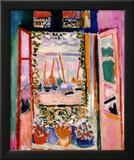 Åpent vindu, Collioure, 1905 Posters av Henri Matisse